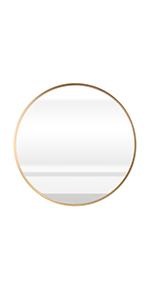19.7 inch circle wall mirror