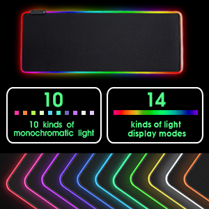 Huracan mouse pad Large XL small size gaming mouse pad mat for gaming rgb LED mousepad for coumputer