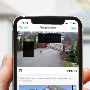 Privacy & Motion Mask