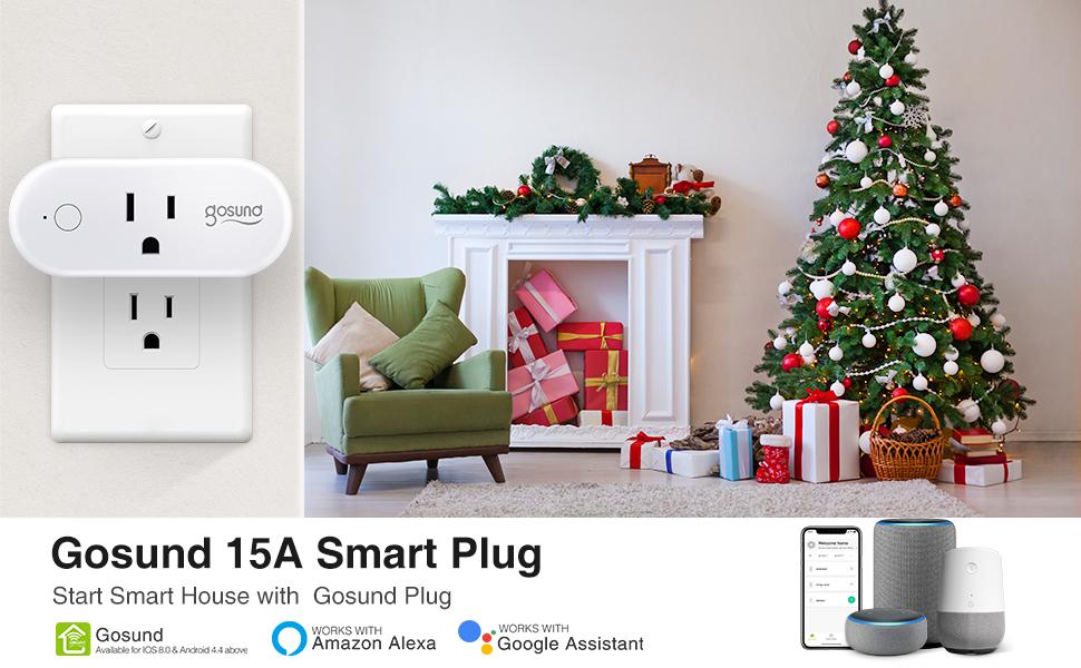Gosund smart switch 15A with chrismas tree