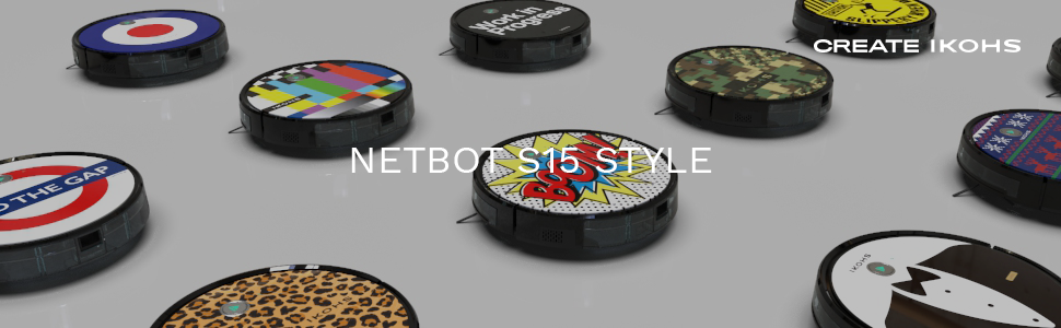 IKOHS NETBOT S15 - Robot aspirador profesional 4 en 1: barre, aspira, pasa la mopa y friega (Netbot s15 / Work in progress): Amazon.es: Hogar