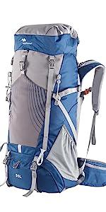 55L hiking backpack