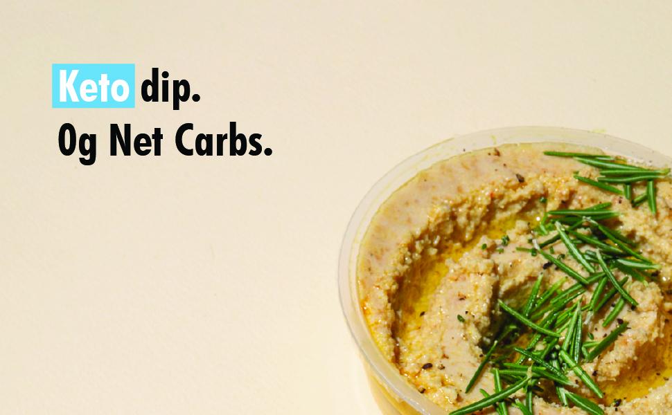 Keto Lupini Dip | Hummus 2.0