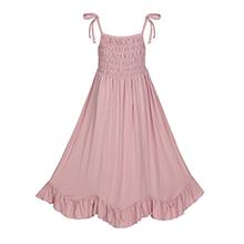 maxi straps dress