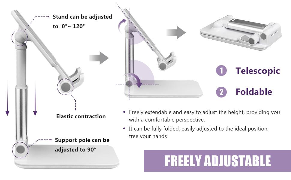 Adjustable Cell Phone Holder