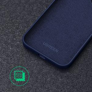 Negro Funda Ultra Delgada de Goma de Gel Suave UGREEN Funda de Silicona L/íquida para iPhone 12 Funda Antigolpes y Ara/ñazos para iPhone 12 Pro Carcasa a Prueba de Polvo