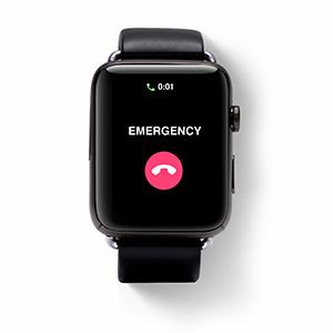 Emergency alert smartwatch, sos smartwatch, medical alert, senior smartwatch, elderly sos, alert