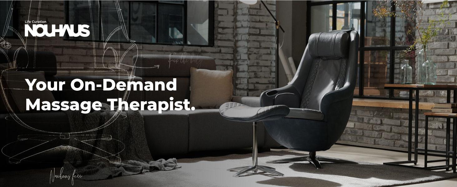 Your On-Demand  Massage Therapist.