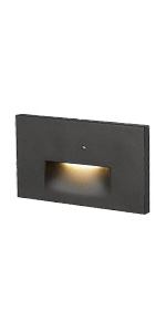 ASD LED Step Light Horizontal with Photocell