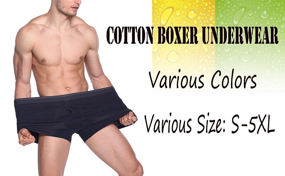 6boxer uomo cotone taglie forti ottima qualità bielastico M L XL 2XL 3XL 4XL 5XL