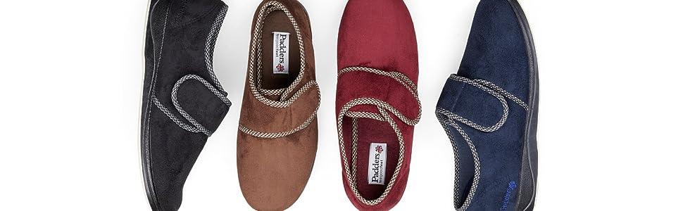 slippers, padders slippers