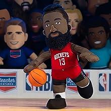 "Bleacher Creatures Houston Rockets James Harden 10"" Plush Figure"