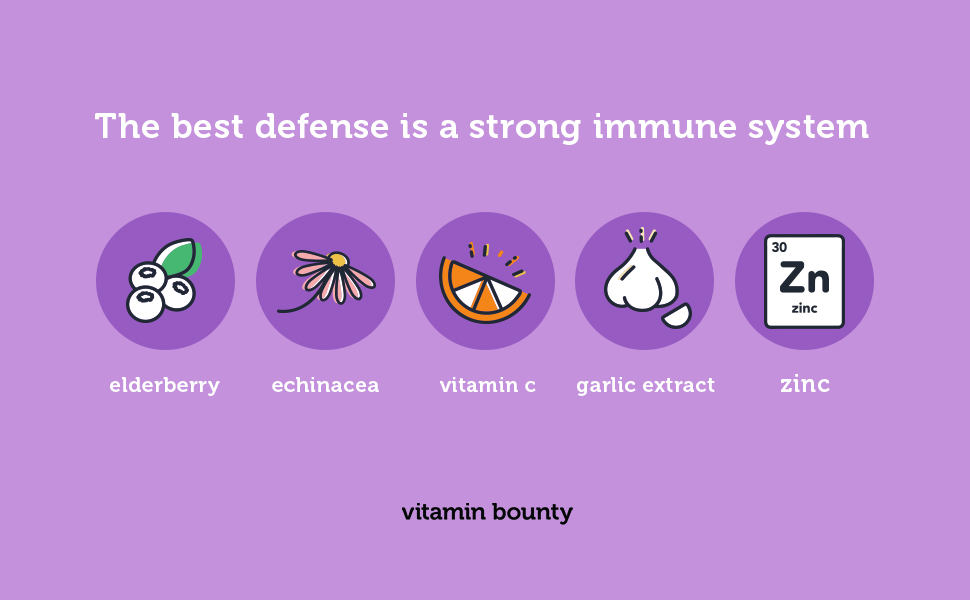 the best defense is a strong immune system