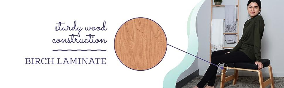 Sturdy Wood Construction - Birch Laminate
