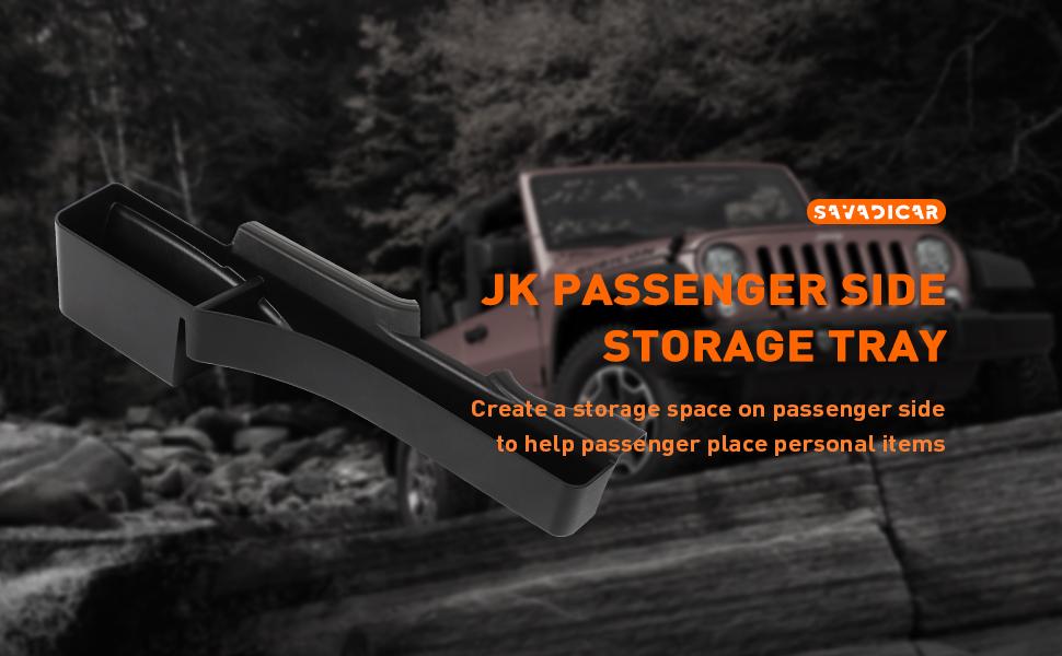 Jeep Wrangler Storage Tray