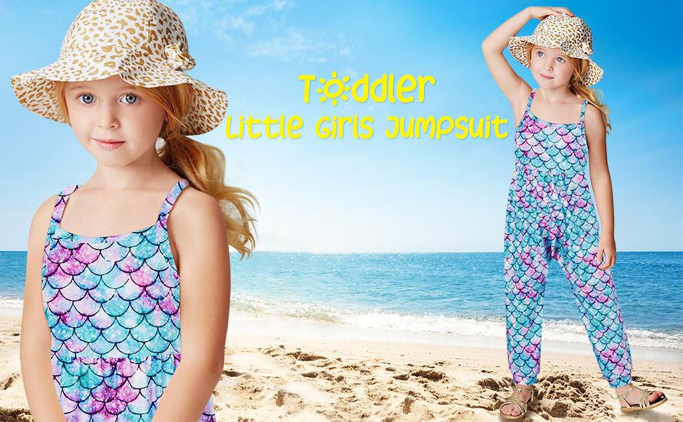 girls summer jumpsuit