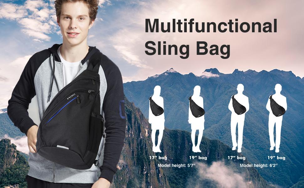 sling bag with USB port