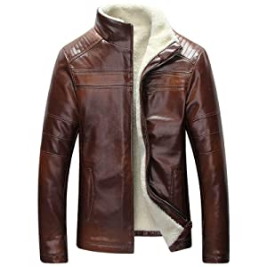 Men's Brown Leather Jacket, Men's Leather Jacket, Leather Jacket, Leather Jacket For Men