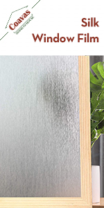Privacy Window Film No Glue Frosted Glass Sticker