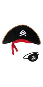 Sombrero pirata parche.
