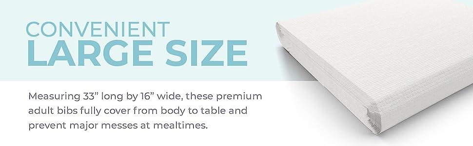 disposable clothing protectors bib large adult big size baberos para adultos patient senior citizens