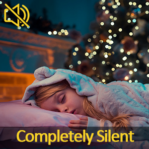 Completely silent