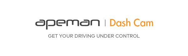 APEMAN Dash Cam