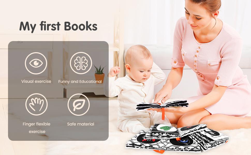 libros blandos para bebes