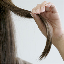 寝起きのどんな髪もしっかり整えます。
