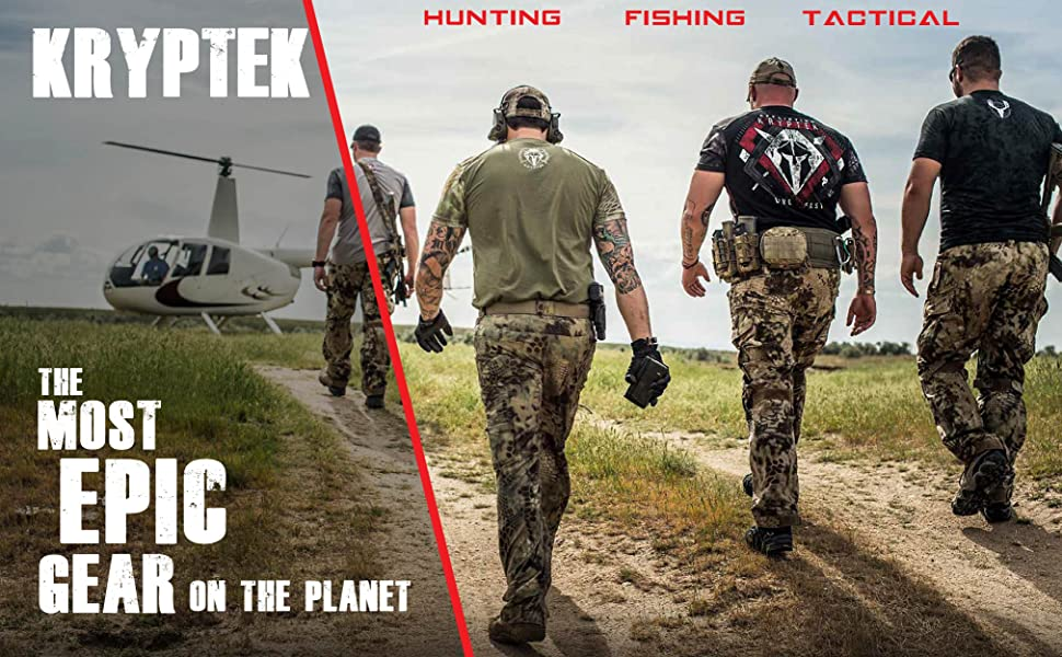 Kryptek Hunting Gear