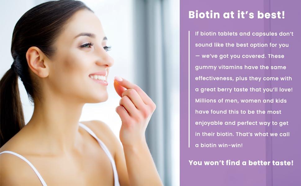 biotin supplement 10000mcg