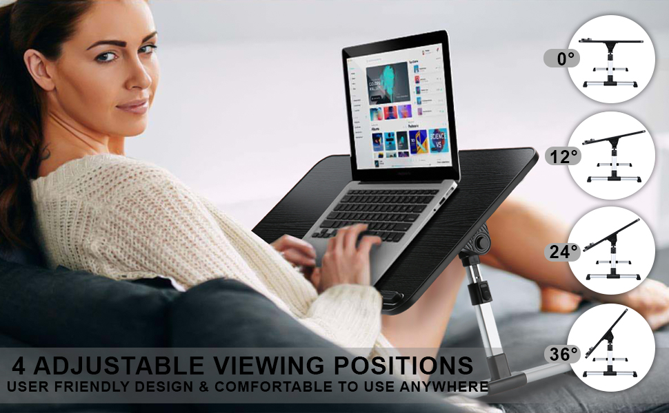 Foldable Laptop Bed Tray