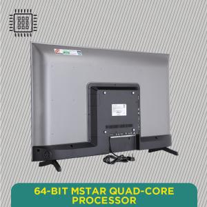 64-bit Mstar Quad-Core Processor