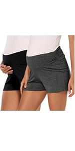 Maternity Lounge Pajama Shorts