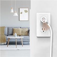 45-Degree Angled Plug