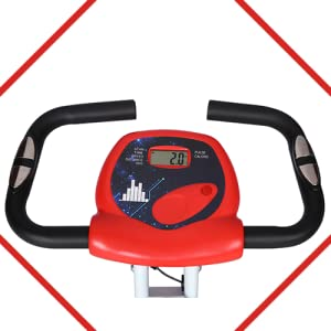 B08CDX1L7J - FITNESS WORLD - Eazy Bike for Home and Gym   8 Level Magnetic Resistance - SPN-FOR1