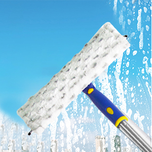 long reach window squeegee outdoor window cleaner kit window cleaning tools with long handle