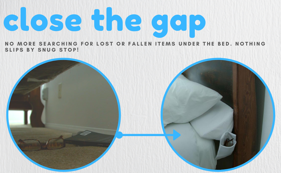 close the gap triangle pillow stop things from dropping wedge