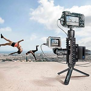 動画配信 sony ミラーレス一眼 GoPro hero7 モバイルバッテリー