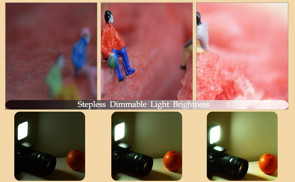 Andoer 49 Led Foto Licht Dimmbar Für Dslr Kamera Kamera