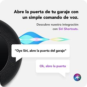Abre puerta con Siri