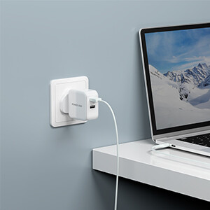 Fast USB Charger Plug Travel Adapter