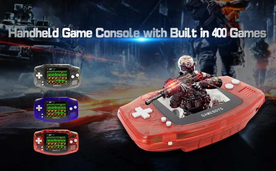 video game handheld