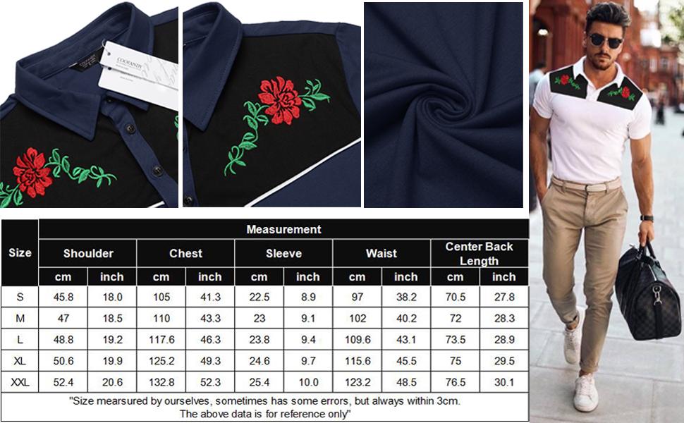 Men's Polo Shirts Short Sleeve