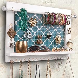 Nice hanging jewelry organizer