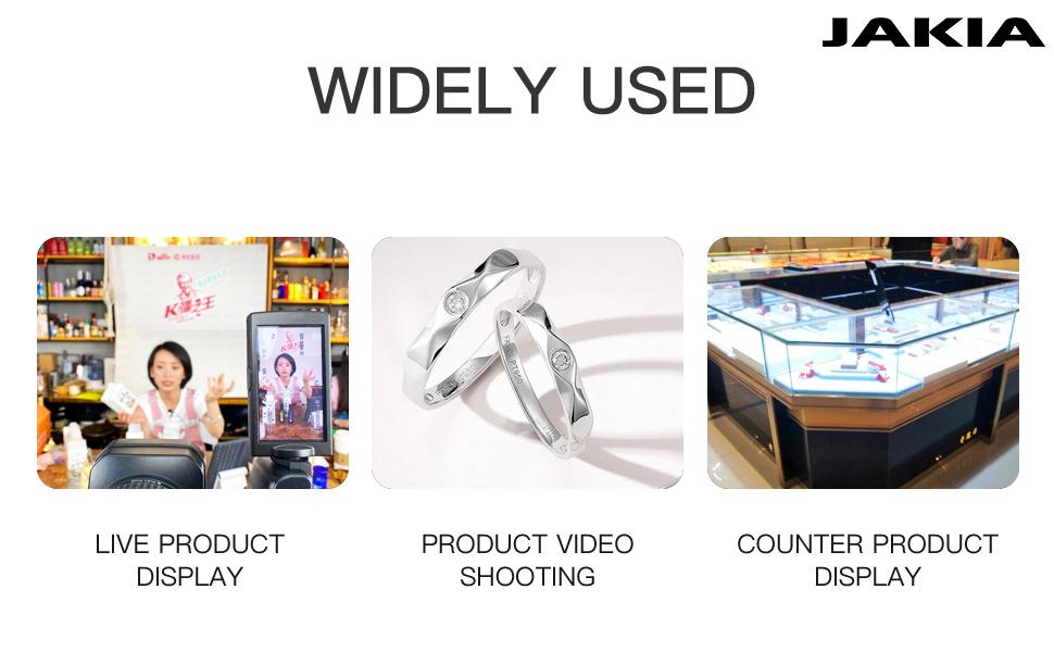 JAKIA Photography Turntable