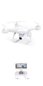 1 Paire Potensic Drone T35 S/érie Moteur Quadrirotor Accessoires dorigine