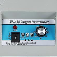 magnetic polishing machine