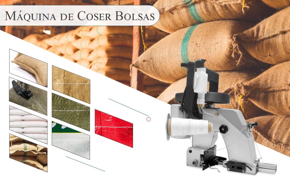 Hanchen Máquina de Coser Bolsas Portátil Máquina de Embalaje ...