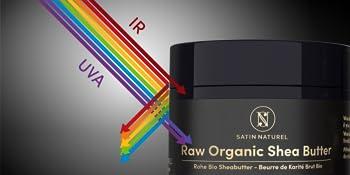 UV against shea butter raw